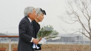 天皇皇后両陛下 岩沼市 千年希望の丘 20150313